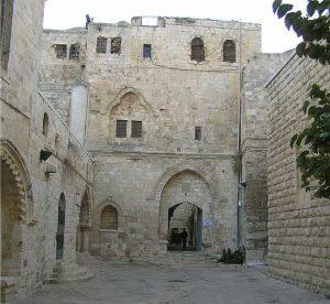 El Cenáculo, Jerusalén - El lugar de la Ultima Cena - Primeros Cristianos