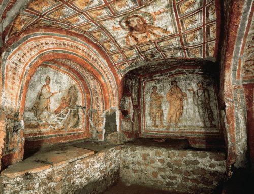 Las catacumbas de Domitila  –  Roma