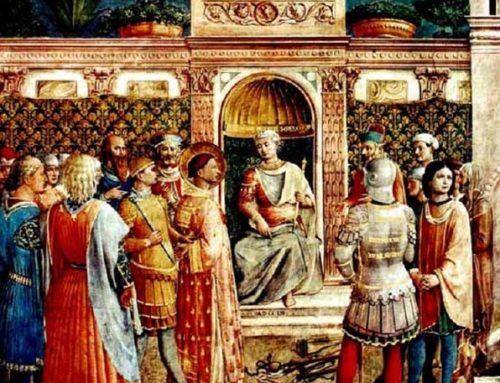 Martirio de San Justino y de sus compañeros (año 165 d.C.)