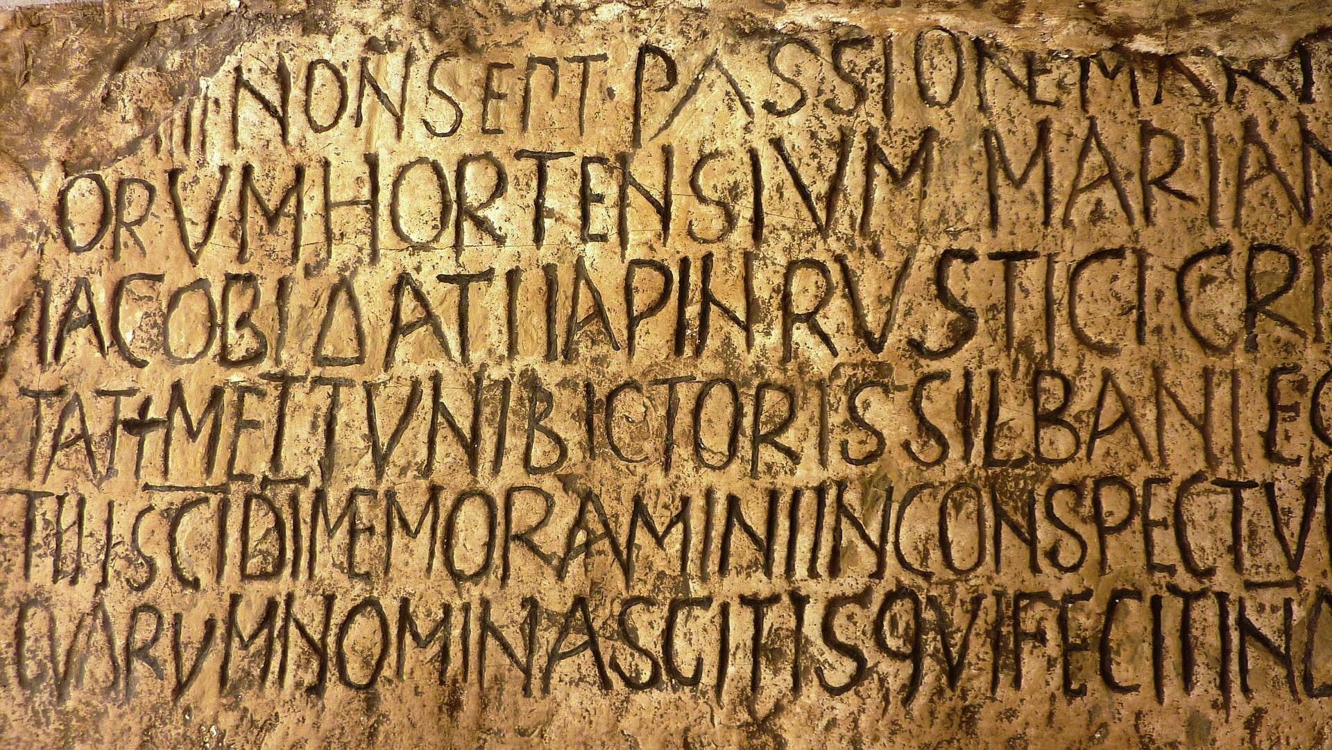 ¿Cuál fue la primera obra escrita en latín por un cristiano? 1