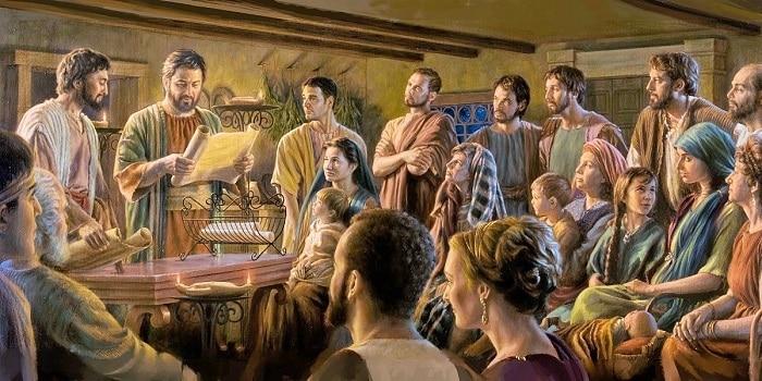 ¿Cómo nos llamábamos los cristianos antes de llamarnos cristianos? 1