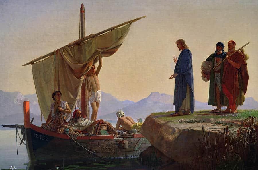 La vocación del apóstol Santiago 1