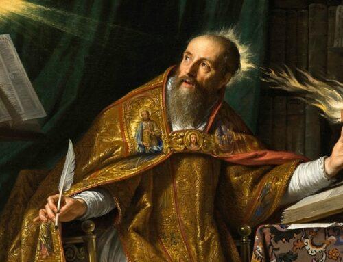 San Agustín – Su conversión es un modelo para nosotros en la búsqueda de Dios