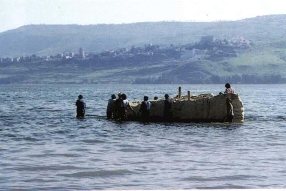 """Mar de Galilea - """"Esto estaban viendo Jesús y los apóstoles"""" 1"""