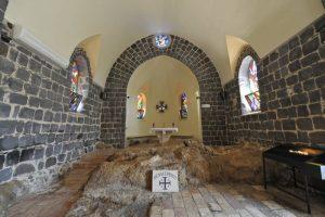 Tabga (Mar de Galilea) - Iglesia del Primado de Pedro 4