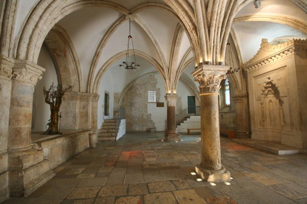 El Cenáculo - El lugar en el que recibieron al Espíritu Santo 1