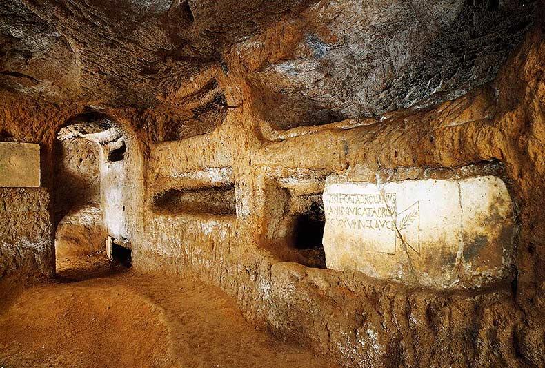 Nuevo hallazgo pictórico en las catacumbas de San Calixto en Roma 1
