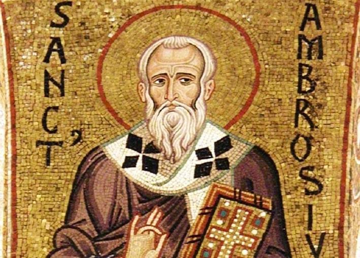 ¿Quién fue San Ambrosio de Milán? 1