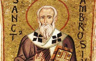 ¿Quién fue San Ambrosio de Milán? 4