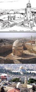 El lugar de la Ascensión del Señor -  La Capilla del Monte de los Olivos #Jerusalén 2