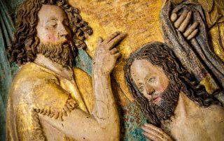 ¿Qué relación existió entre San Juan Bautista y Jesús? 5