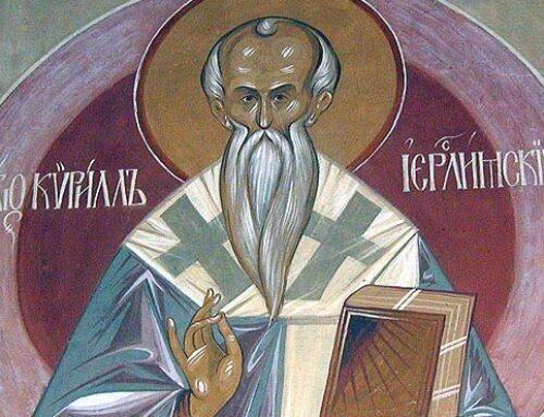 San Cirilo de Jerusalén -18 marzo