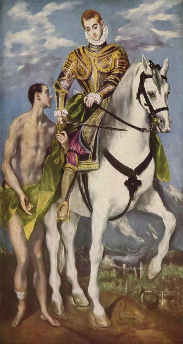 San Martín de Tours - ejemplo para los jóvenes y enfermos 1