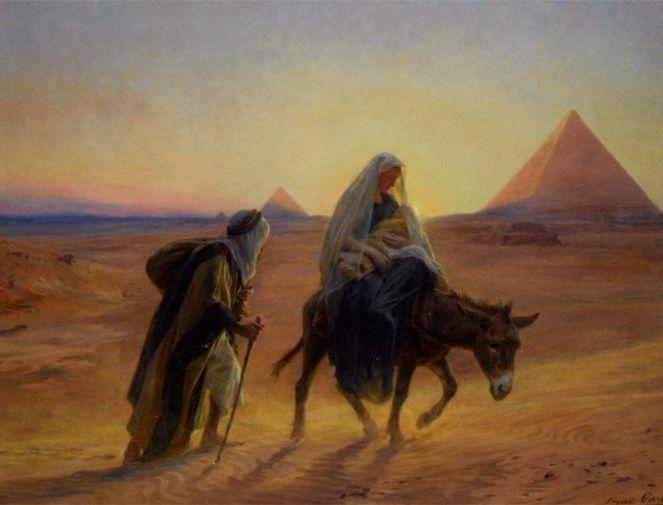 Resultado de imagen para IMAGENES DE LA HUIDA A EGIPTO