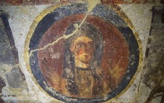 Catacumba de Santa Priscila en Roma