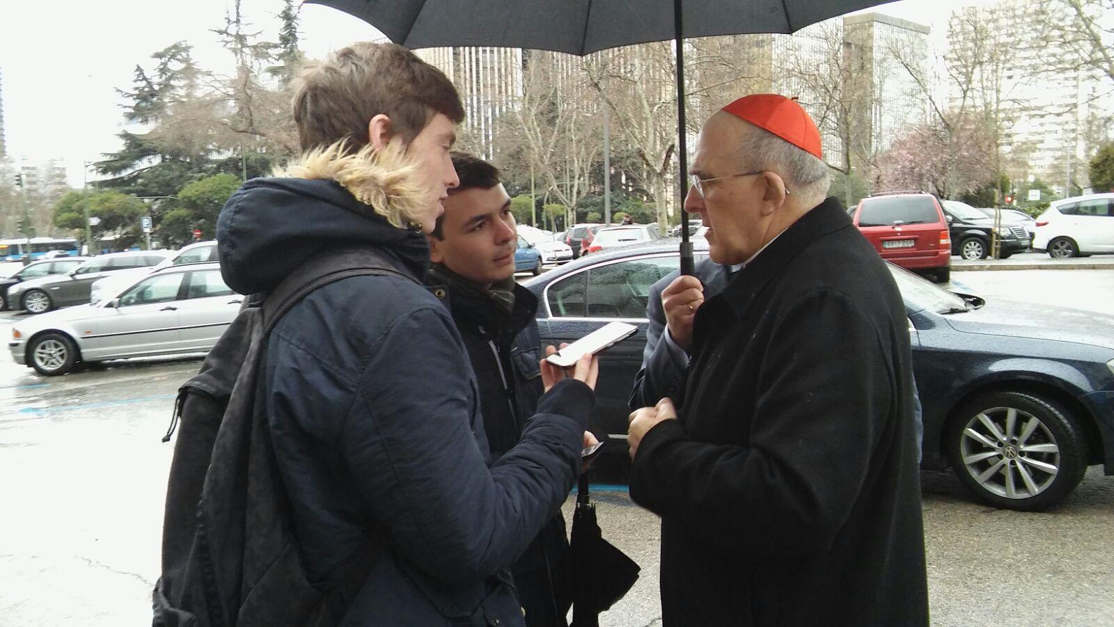"""Cardenal Osoro: """"Tenemos que aprender que a la fe se llama por atracción"""" 2"""