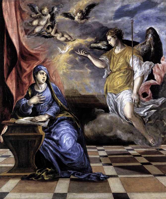 La Anunciación a la Virgen María - 25 de marzo 3