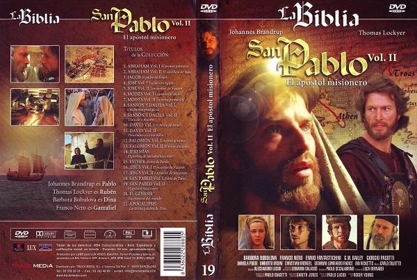 Serie de TV sobre San Pablo, dentro de una colección sobre la Biblia. Lux Vide. 1