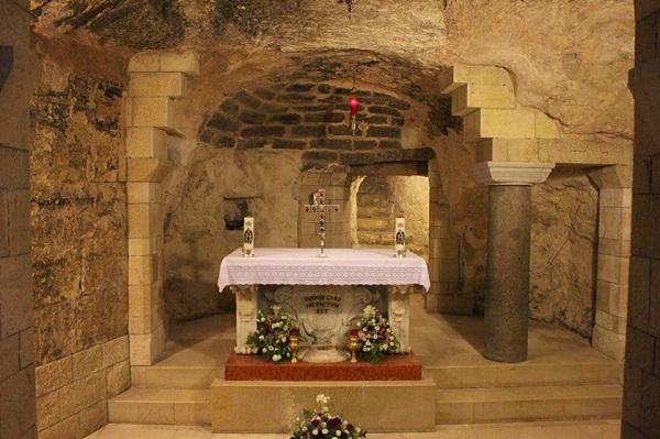 La Gruta de la Anunciación en Nazaret – Tierra Santa