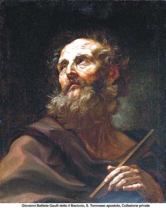 Santo Tomás apóstol - 3 de julio 1