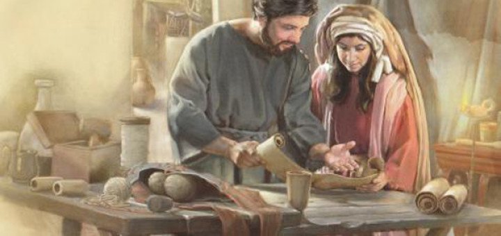 ¿Sabes quienes eran Aquila y Priscila? - Benedicto XVI los presenta 1