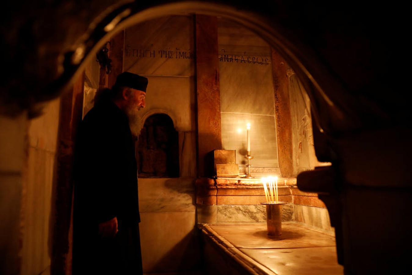 Santo Sepulcro Jerusalén - Finalizan las obras del Edículo en la basílica 2