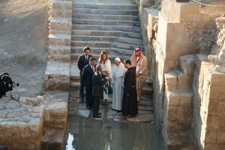 A orillas del Jordán - El lugar donde Juan Bautista bautizó a Jesús, declarado Patrimonio de la Humanidad 1