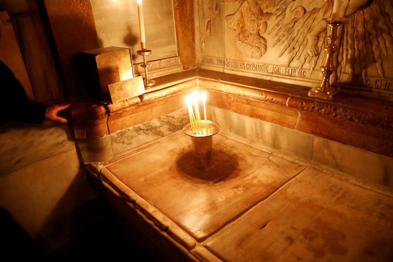 La Tumba de Jesucristo recobra su esplendor - Santo Sepulcro, Jerusalén 1