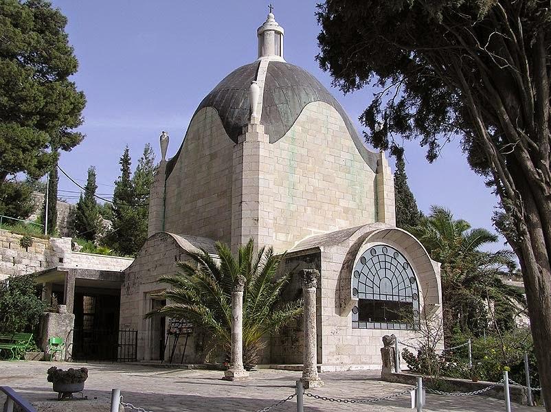 """Jerusalén - Peregrinación cuaresmal a la Iglesia de """"Dominus Flevit"""" 1"""