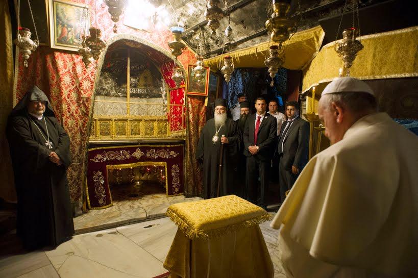 La Basílica de la Natividad en Belén 3