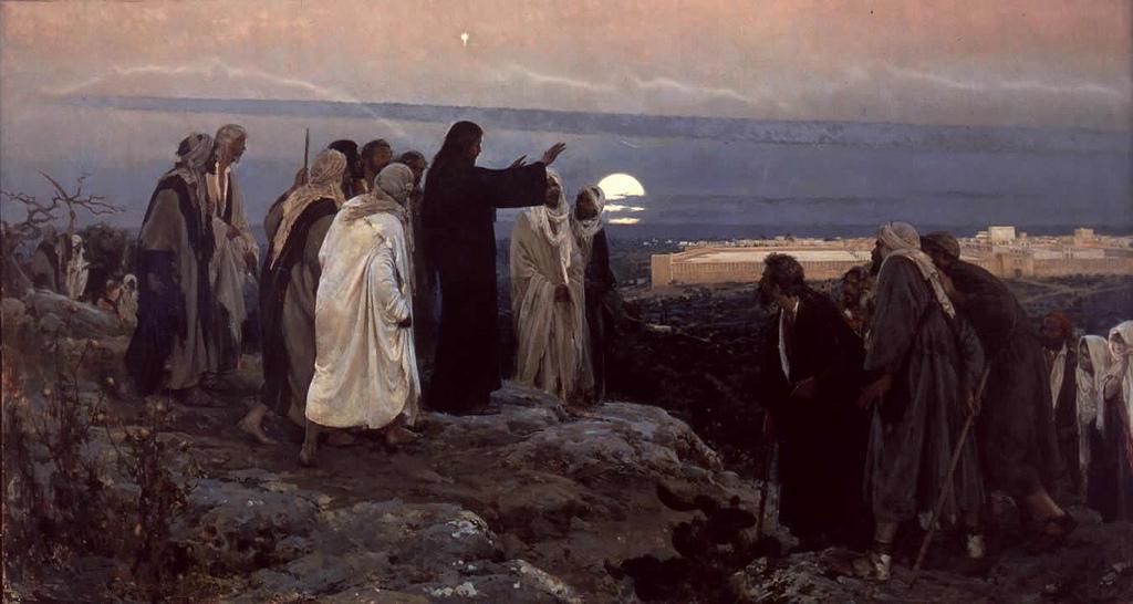 """Jerusalén - Peregrinación cuaresmal a la Iglesia de """"Dominus Flevit"""" 2"""