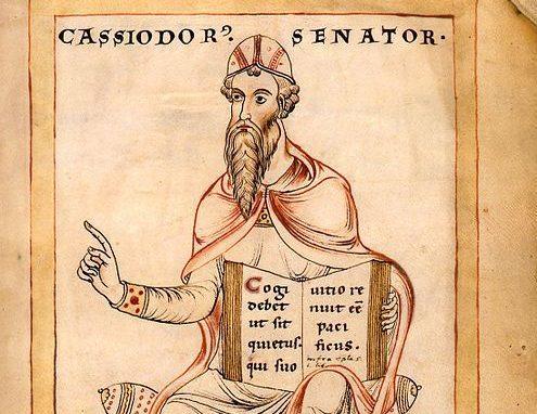 Casiodoro - político y escritor cristiano del siglo VI - 27 mayo 1