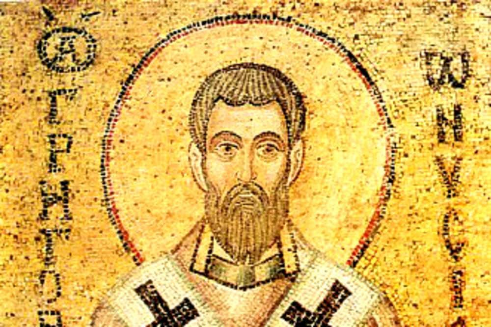 SAN GREGORIO DE NISA - Presentado por Benedicto XVI 1