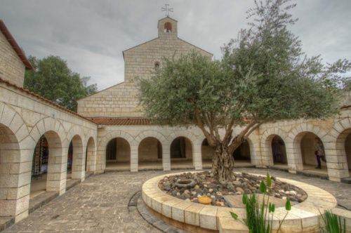 Incendio provocado en la iglesia de la multiplicación de los panes y los peces- Tabgha (Galilea) 1