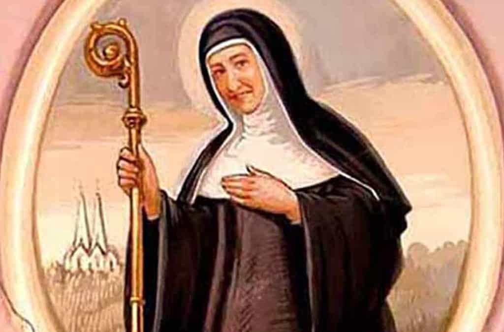 Santa Matilde de Hackeborn - 19 de noviembre 1