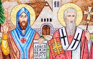 ¿Sabes quiénes eran los Santos Cirilo y Metodio, Patronos de Europa? 1