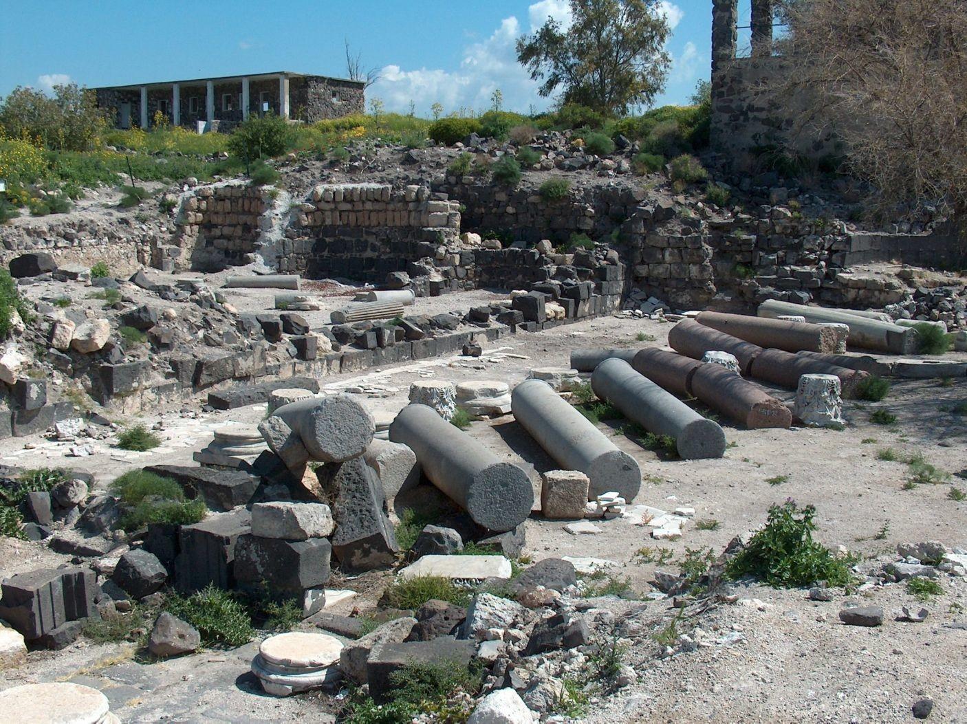 Israel: Arqueólogos creen haber hallado la tumba de una santa desconocida, en Hippos-Sussita 1