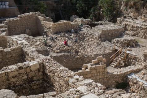 Localizan en Jerusalén los restos de la ciudadela griega de Acra 2