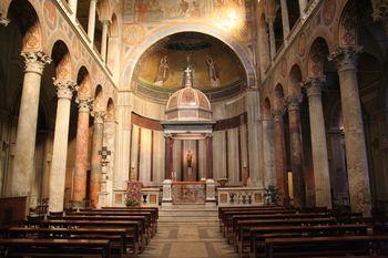 Basílica de santa Inés en la Via Nomentana