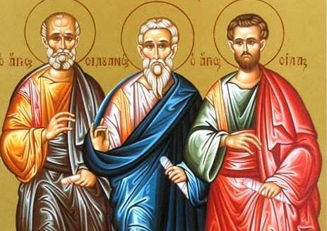 Benedicto XVI presenta a San Bernabé, San Silas y Apolo - colaboradores de San Pablo 1