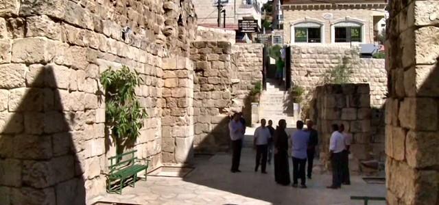 Betania - Excavaciones en torno a la tumba de Lazaro 3