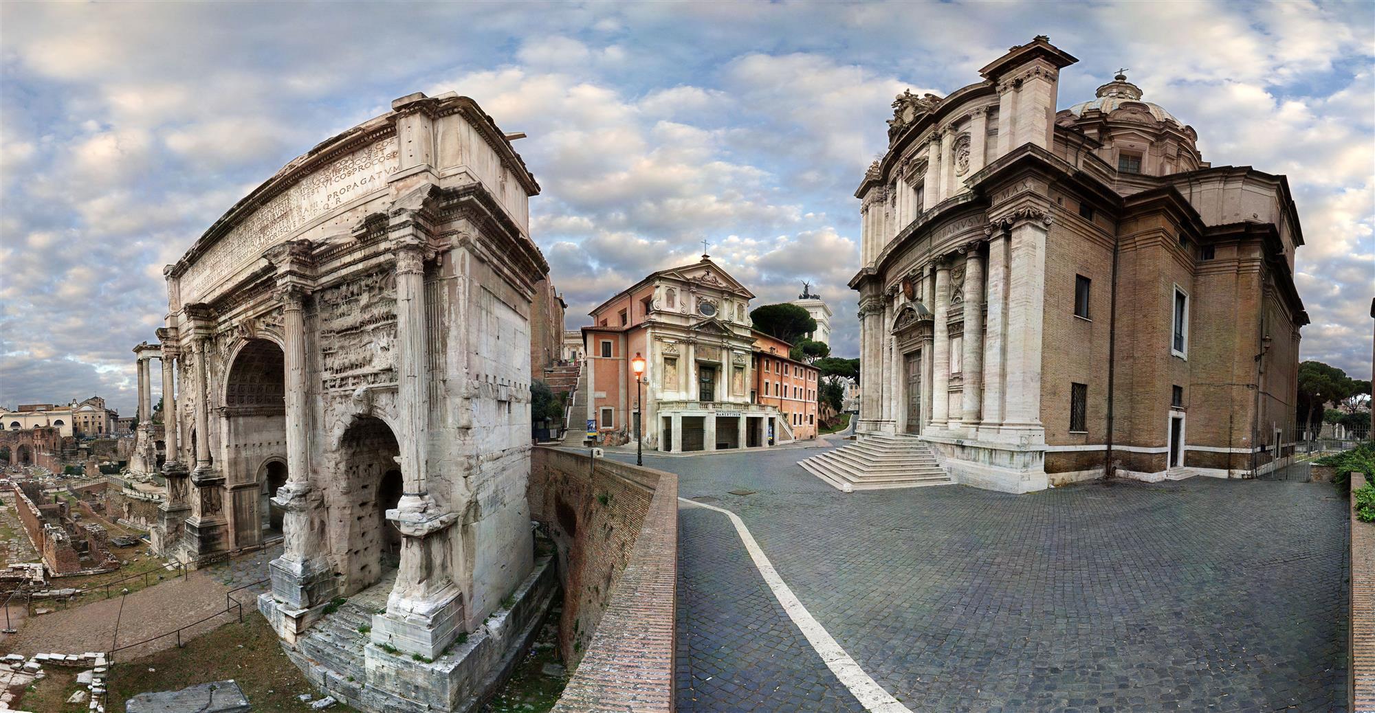 La Cárcel Mamertina se transformó rápidamente en un centro petrino de devoción - Roma 1