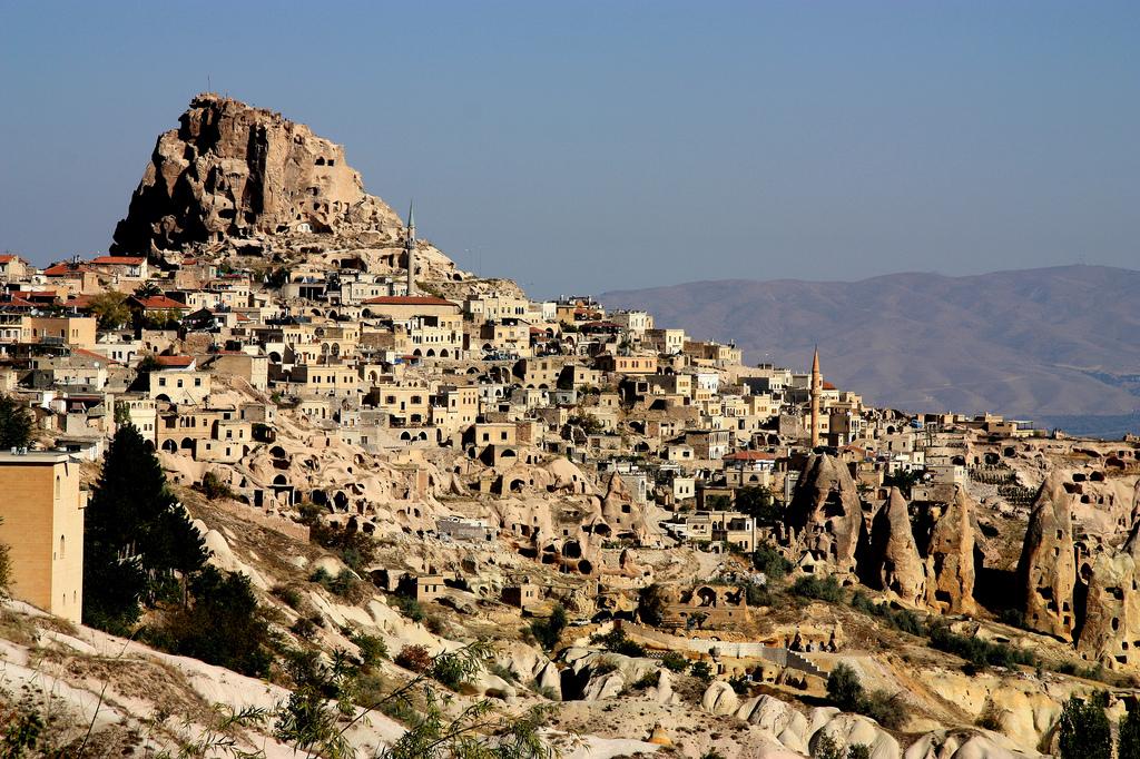 Iglesia subterránea descubierta en Nevşehir (Capadocia) Turquía: siglo IV-V 1