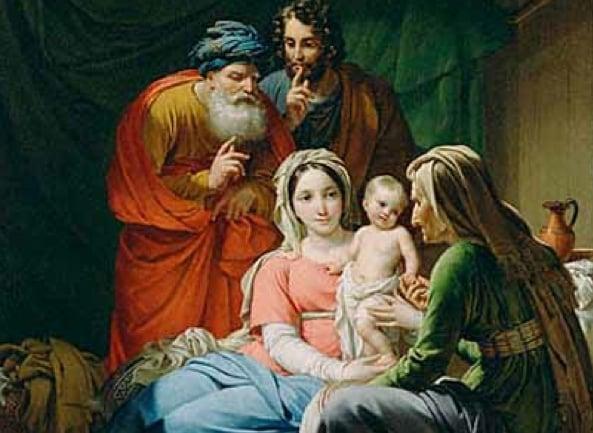 abuelos de Jesús