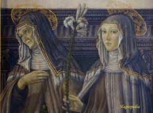 Santa Paula y santa Eustoquio