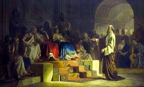 San Pablo Es Detenido En El Templo De Jerusalén Primeros Cristianos