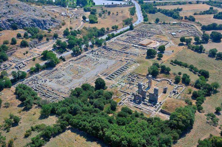 Filipos de Macedonia, primera ciudad europea evangelizada por San Pablo, Patrimonio Mundial de la Unesco 1