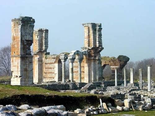 Filipos de Macedonia, primera ciudad europea evangelizada por San Pablo, Patrimonio Mundial de la Unesco 2