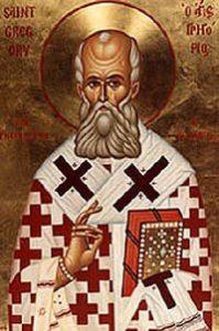 SAN GREGORIO DE NISA - Presentado por Benedicto XVI 2