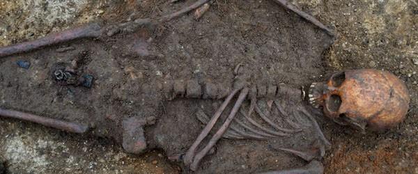 Descubierto enterramiento de los primeros cristianos de Inglaterra 1